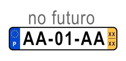 Conheça o novo formato das matrículas em Portugal
