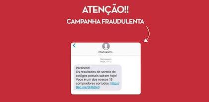 Alerta: Continente alvo de ataque pirata por SMS
