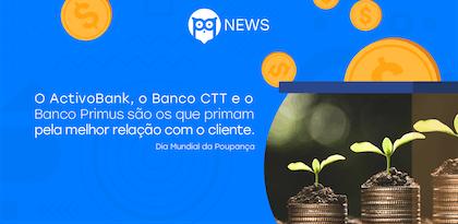 Dia Mundial da Poupança: Quais os bancos preferidos dos portugueses?