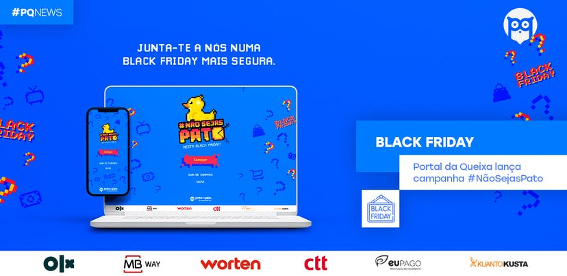 Black Friday: Portal da Queixa lança campanha #NãoSejasPato