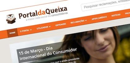 Portal da Queixa tem um novo site